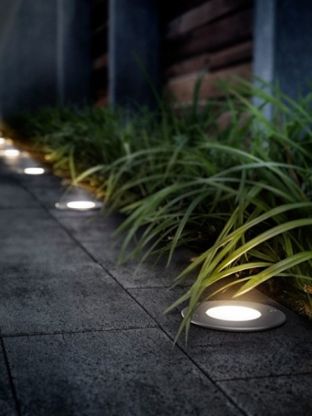 Imagens 17306/47/16 Philips myGarden Recessed spot light Ø11,4cm Moss inox LED 3W 270 lm IP67