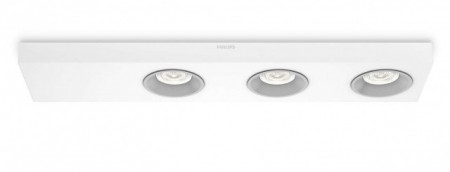31213/31/16 Philips QUINE LED 3x4,5W 1500lm Dimável