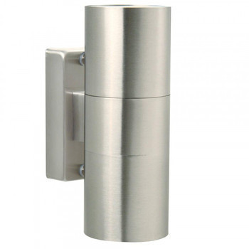 TIN Aplique Inox 2xGU10 IP54