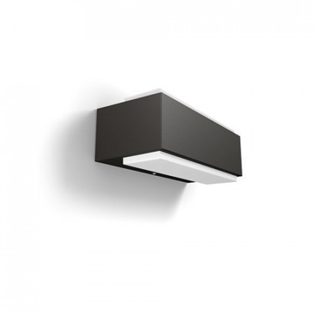 16487/93/P3 Philips myGarden Wall light Stratosphere anthracite LED 2x4,5W 1000lm 4000K