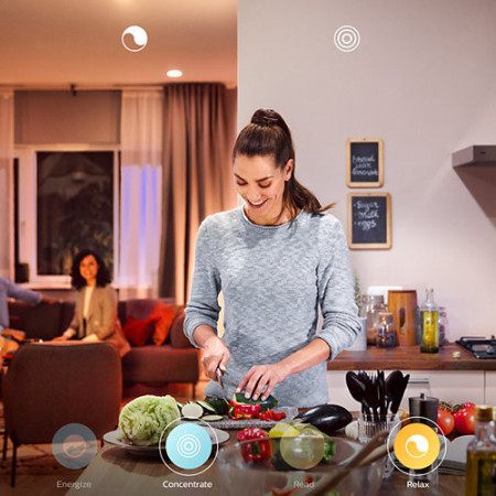 40761/30/P6 Philips HUE White Ambiance CHER LED 39W 3000lm Dimável