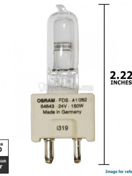 64643 FDS GY9,5 24V 150W