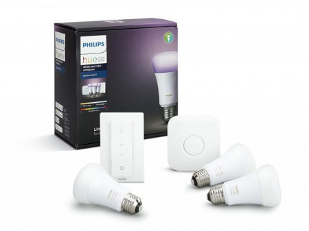 Imagens 8718696728796 PHILIPS HUE Kit inicial White & Color ambiance RGB E27