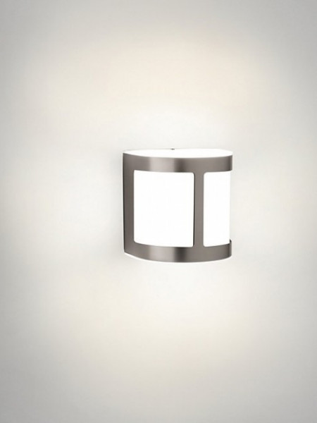 Imagens 17300/47/16 Philips Parrot wall lantern inox LED 3W 270lm 2700K IP44