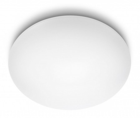 Imagens 31802/31/16 Philips Suede ceiling lamp white Ø 38cm 4x6W 2350lm 4000K IP20