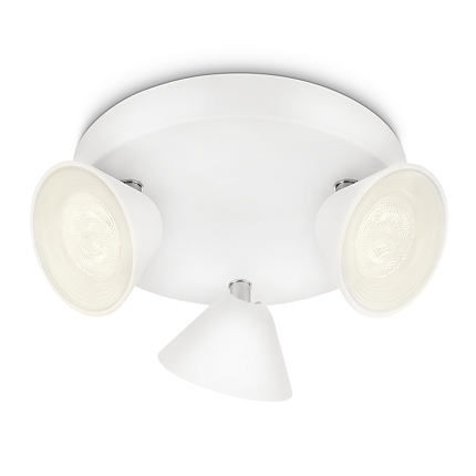 53289/31/16 Philips TWEED plate/spiral LED white 3x4,5W  1500lm