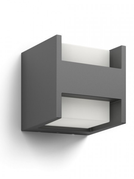 Imagens 16459/93/16 Arbour wall lantern anthracite LED 2x4.5W 800lm IP44