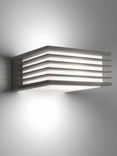 Imagens 17182/93/16 Philips Shades wall lantern antracit 1x15W 230V IP44