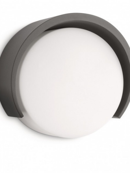 17252/93/16 Philips Parasola wall lantern antracit E27 20W 230