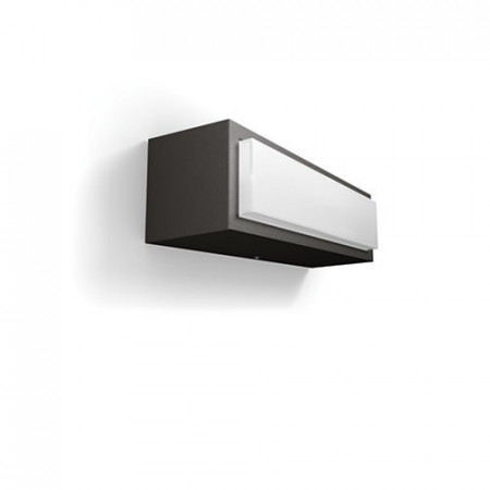 17354/93/P3 Philips Stratosphere wall lantern anthracite LED 4,5W 500lm 4000K IP44