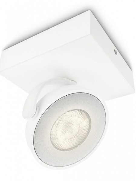 Imagens 53170/31/16 Philips CLOCKWORK single spot LED white 1x4,5W 500lm Dimável