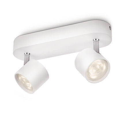 Imagens 56242/31/16 Philips STAR Wall and Ceiling  LED white 2x4,5W 2x500lm