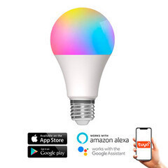A60 E27 SMART WiFi TUYA LED 10W RGB+CCT A++