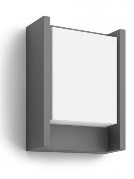 16460/93/P3 Philips Arbour anthracite LED 6W 600lm 4000K IP44