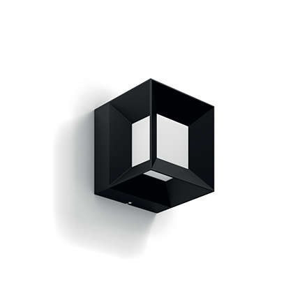 Imagens 16480/30/P0 Philips myGarden Wall light Parterre black LED 8W 800lm