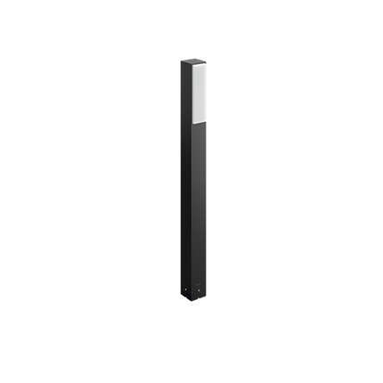 16489/93/P3 Philips Pedestal/post Stratosphere antracit LED 2x4,5W 1000lm 4000K