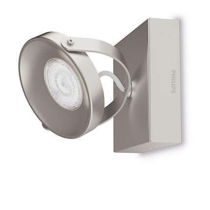 Imagens 53310/17/16 Philips Spur single spot nickel 1x4.5W 500lm Dimável