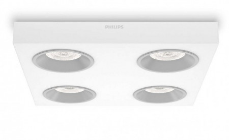 Imagens 31214/31/16 Philips QUINE LED 4x4,5W 2000lm Dimável
