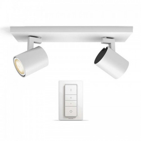 Imagens 53092/31/P7 Philips HUE White Ambiance RUNNER bar/tube white 2x5.5W 2200-6500K