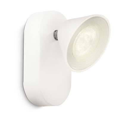 Imagens 53280/31/16 Philips TWEED single spot LED white 4,5W 500lm
