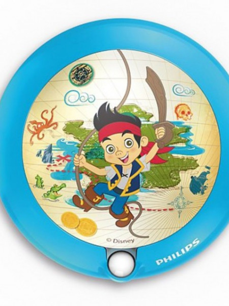 Imagens 71765/40/16 Philips DIS Night light Ø9,5cm Jake and the Neverland Pirates