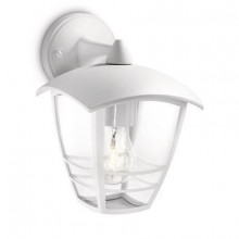 15381/31/16 Philips Creek wall lantern white E27 IP44