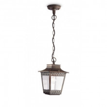15406/86/16 Philips Hedge lantern pendant rust E27 IP44
