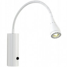 MENTO Aplique c/ int. LED 3W 130lm 3000K 60º IP20