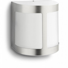 17300/47/16 Philips Parrot wall lantern inox LED 3W 270lm IP44