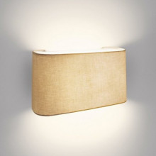 33200/87/16 Velour wall lamp grey E27 23W 1430lm