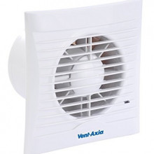 454055B Vent-Axia Extractor p/ WC Silhouette 100 B 16W 95m3/h 37dB IPX4