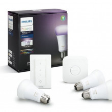 Philips KIT inicial HUE E27 Luz Branca e Colorida