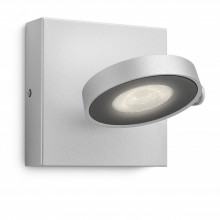 53170/48/16 Philips CLOCKWORK single spot LED aluminium 4,5W 500lm Dimável