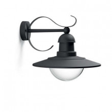 01816/30/PN Philips myGarden Wall light Topiary black E27 IP44
