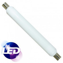 LED SOFITO S19 7W=60W 480lm 2700K 360º  310mmxØ38mm