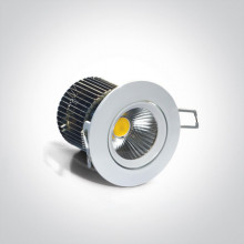 12W 1100lm COB LED Recessed Adjustable Spot.38º IP20