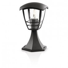 15382/30/16 Philips Creek pedestal black E27 IP44