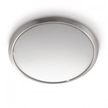 30050/17/16 Philips Circle ceiling lamp nickel 2x75W 230V - 2X75 W-230 V/E27(PLCE)Not Included
