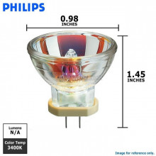 13865 Philips Dental Lamp MR11 G5.3/4.8 12V 75W