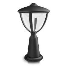 15472/30/16 Philips myGarden Pedestal/post Robin black LED