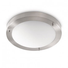 32010/17/16 Philips Salts ceiling lamp nickel 1x20W 230V
