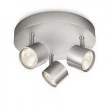 56243/48/16 Philips PROMO plate/spiral LED aluminium 3x4W