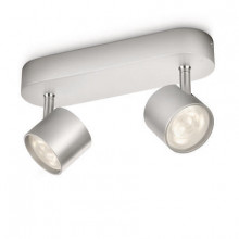 56242/48/16 Philips STAR bar/tube LED aluminium 2x4W SELV