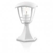 15382/31/16 Philips Creek pedestal white E27 IP44