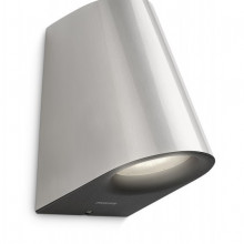 17288/47/16 Philips Virga wall lantern inox LED 2x3W 530lm IP44