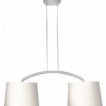 42259/38/16 Philips Licius pendant cream 2x60W 230V