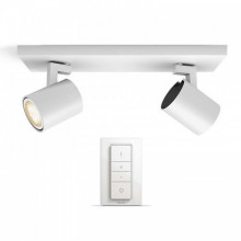 53092/31/P7 Philips HUE White Ambiance RUNNER bar/tube white 2x5.5W 2200-6500K