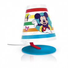 71764/30/16 Philips Table Lamp DISNEY MICKEY MOUSE LED 3W 270lm