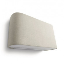 33200/87/16 Philips Velour wall lamp grey 1x23W E27 230V