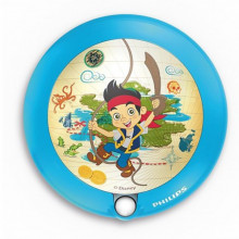 71765/40/16 Philips DIS Night light Ø9,5cm Jake and the Neverland Pirates